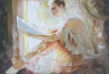 Russische schilder, Balletdanseres met bladmuziek